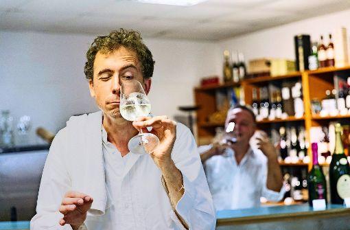 Sprachliche Urgewalt zum Wein