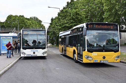 Schnellbuslinie  zum Karl-Benz-Platz