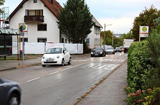 Scharnhauser Straße wird voll gesperrt