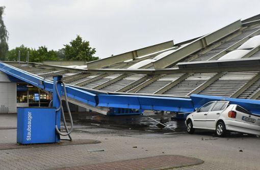 Starkregen verursacht Chaos in Nordrhein-Westfalen