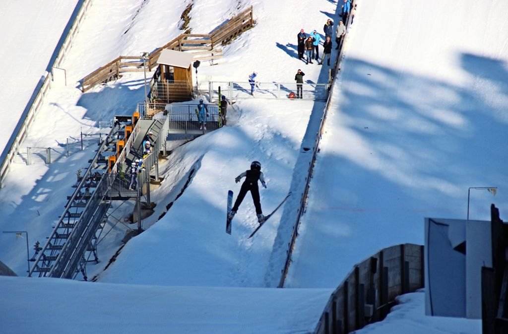 Adrenalin pur: Julian Hillmer muss beim Fliegen bis zur Landung die Spannung halten Foto: Privat