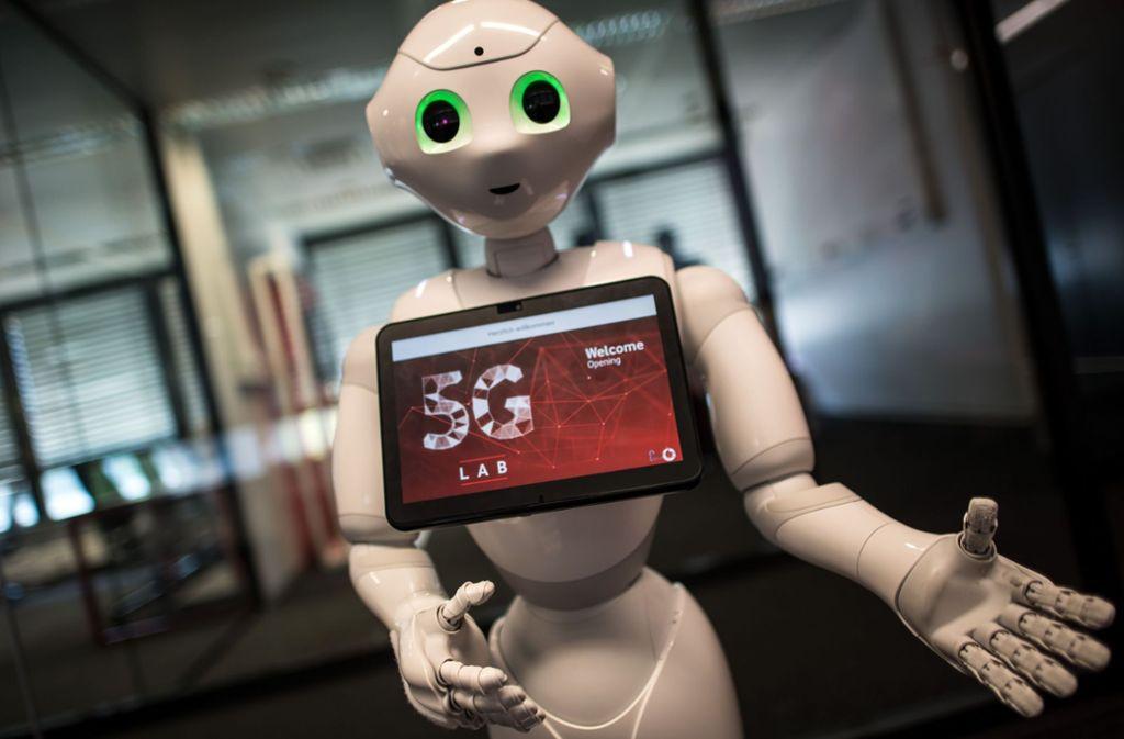 Der 5G-Mobilfunkstandard soll künftig die Digitalisierung in Deutschland vorantreiben. (Symbolbild) Foto: dpa