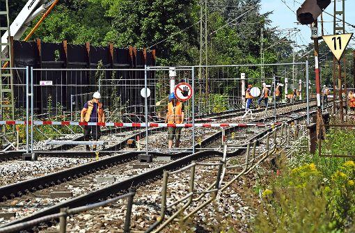 Rheintalbahn nach Karlsruhe bleibt bis 7. Oktober gesperrt