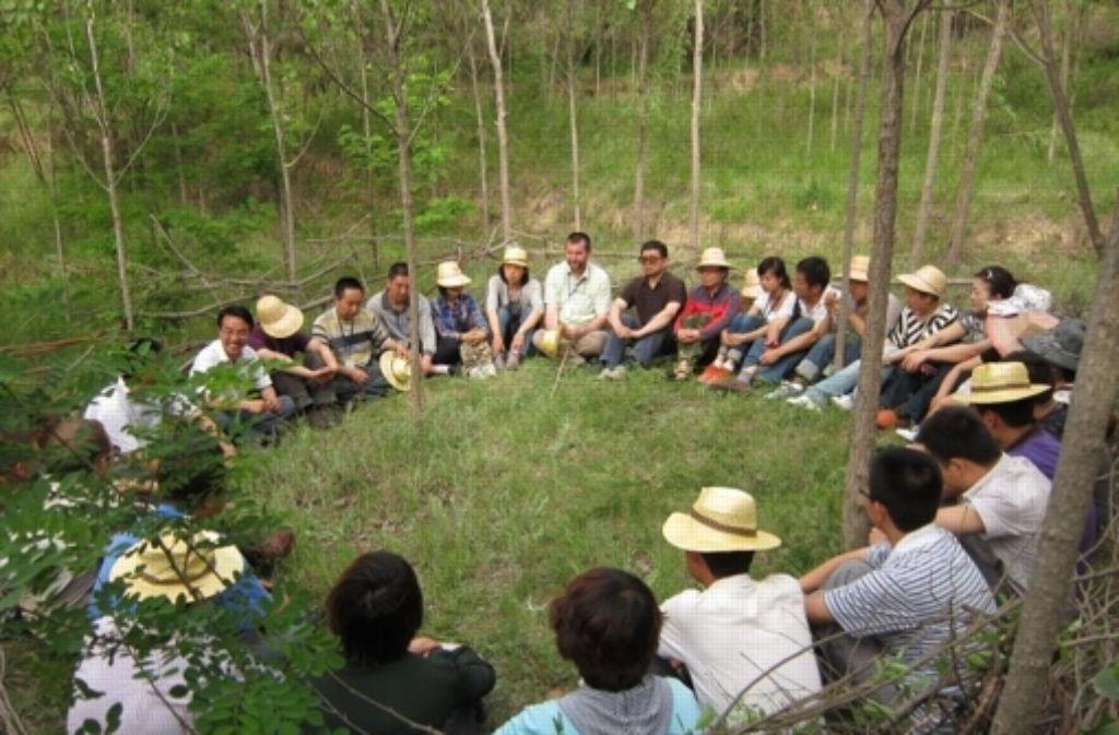 In China werden Waldpädagogen ausgebildet. Foto: privat