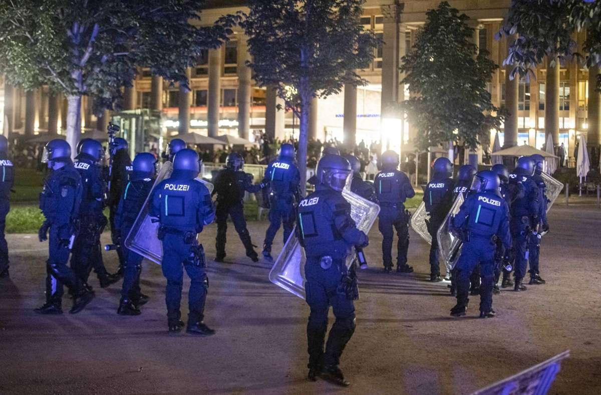 Die Polizei zog zahlreiche Kräfte zusammen, um der Lage Herr zu werden. Foto: 7aktuell.de/Simon Adomat