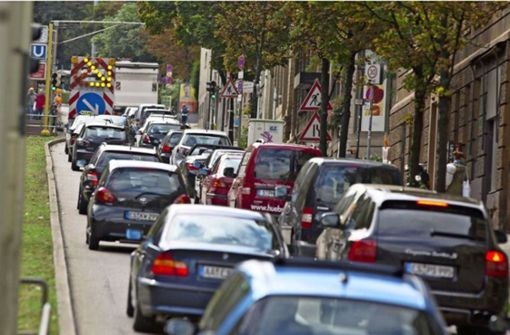 Baustelle stellt Verkehr auf den Kopf – so kommen Sie durch die Stadt