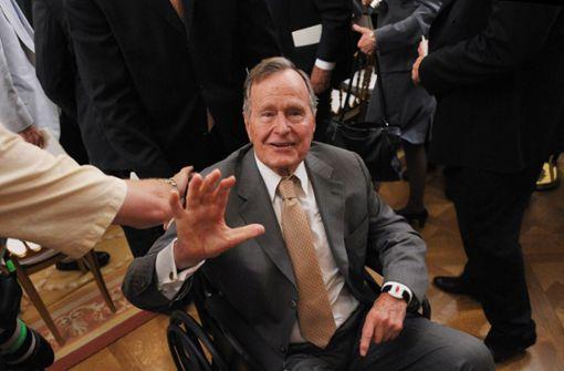 Ex-Präsident George Bush im Krankenhaus