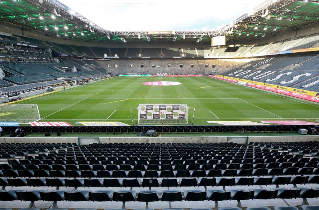 Der Spielbetrieb in den Bundesligen ist derzeit bis mindestens zum 30. April unterbrochen. Foto: dpa/Roland Weihrauch