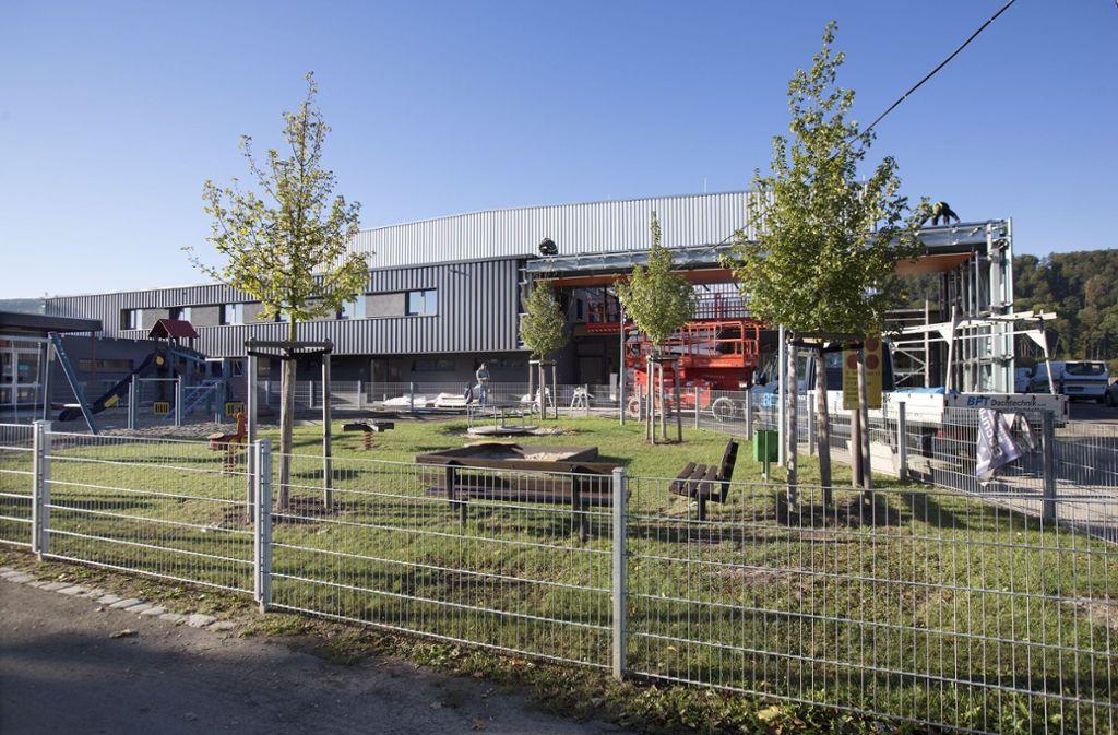 Im September ist die Eberhard-Bauer-Sporthalle fertig gestellt worden. Foto: Horst Rudel