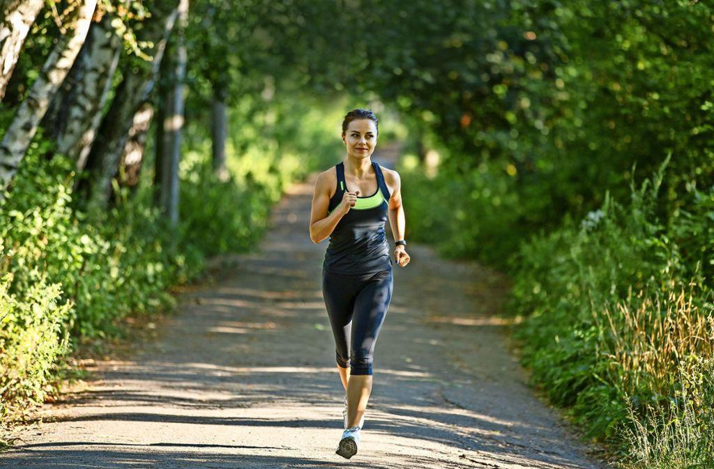 Sport setzt im Körper vielfältige Mechanismen in Gang – und soll daher zum Beispiel  bei Stress, Schlafstörungen und Niedergeschlagenheit helfen. Foto: skumer/Adobe Stock