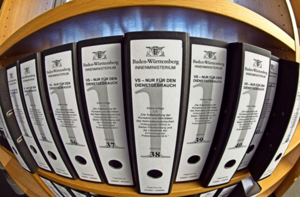 """Der Bundestag verweigert dem Landtag den Geheimbericht zur Rolle des V-Manns """"Corelli"""". Sonderermittler Jerzy Montag wusste dennoch Erhellendes zu berichten. Foto: dpa"""