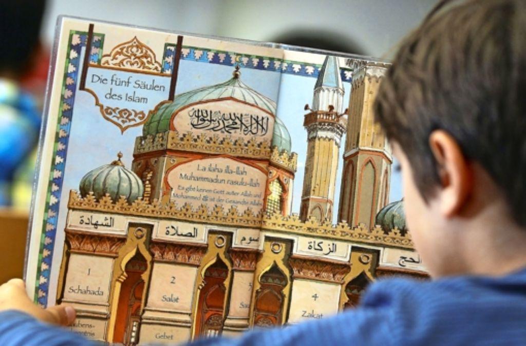 Auch an Gymnasien gibt es viele    muslimische Schüler. Foto: dpa