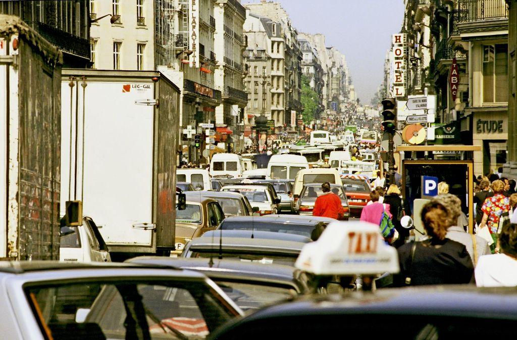 Staus und  Smog könnten in Paris bald der Vergangenheit angehören. Foto: Mauritius