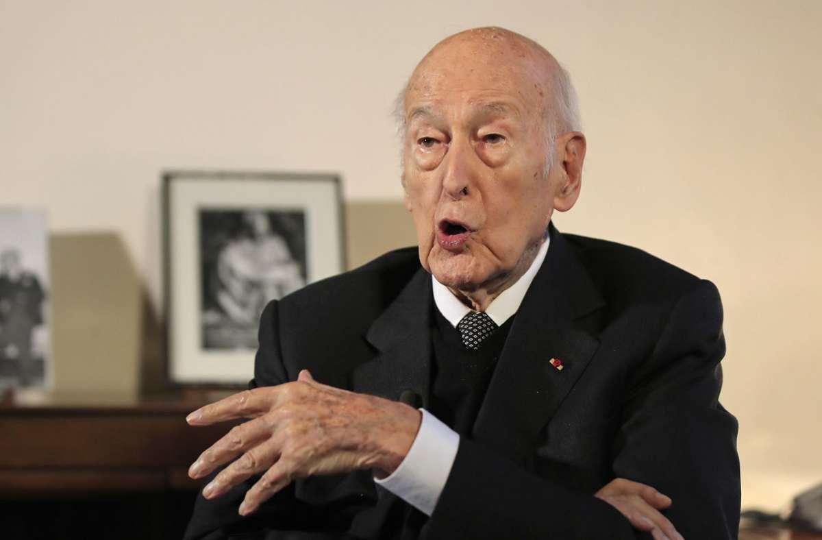 Valéry Giscard d'Estaing ist im Alter von 94 Jahren gestorben (Archivbild). Foto: AP/Michel Euler