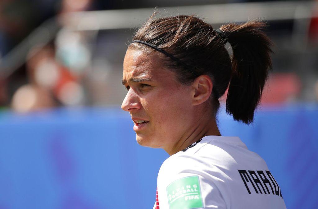Dzsenifer Marozsan kann vorerst nicht spielen. Foto: Getty Images