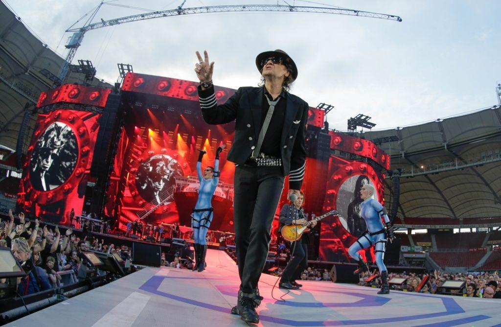 Udo Lindenberg lieferte in Stuttgart eine ganz große Show. Foto: Lichtgut/Leif Piechowski