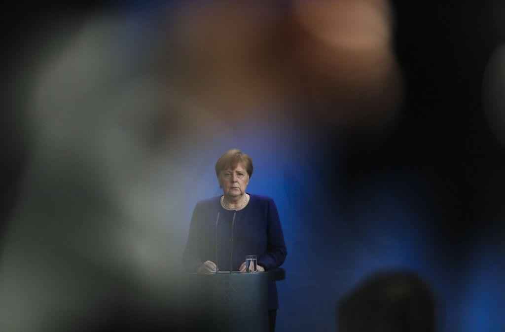 Bundeskanzlerin Angela Merkel (CDU) Foto: AP/Markus Schreiber
