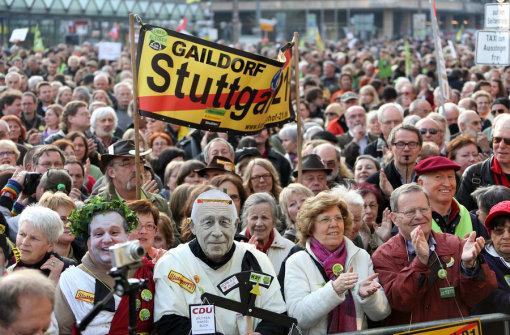 Erste Montagsdemo nach Landtagswahl