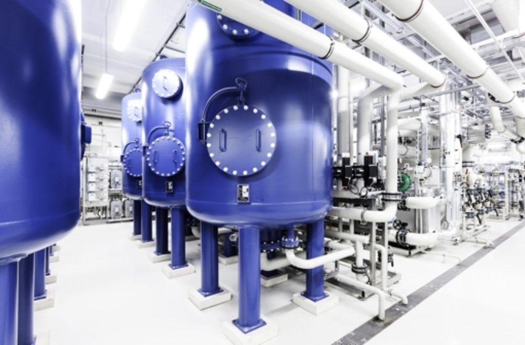 In Stuttgart werden Aufbereitungsanlagen für Wasser hergestellt. Foto: Hager + Elsässer