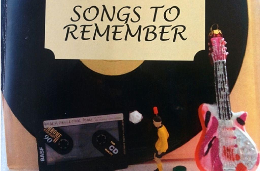 """Platte, Tipp-Kick und Mixtape: Günter Ramsauers Buch """"Songs to Remember"""" (hier ein Ausschnitt des Covers) spielt erkennbar in den Siebzigern. Foto: StZ / Repro"""