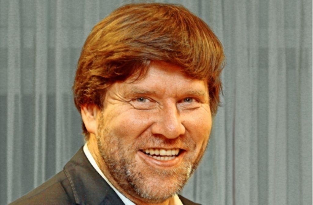Markus Rösler   1983  in Gerlingen  und heute als Landtagsabgeordneter.Foto: factum Foto: