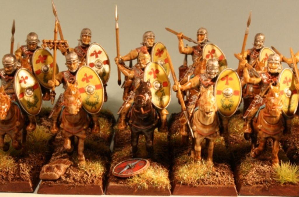 Die Lanze war die wichtigste Waffe des römischen Reiters. Daneben trug er ein Schwert und mehrere Wurfspeere bei sich. Foto: Bart Vetters/Flickr