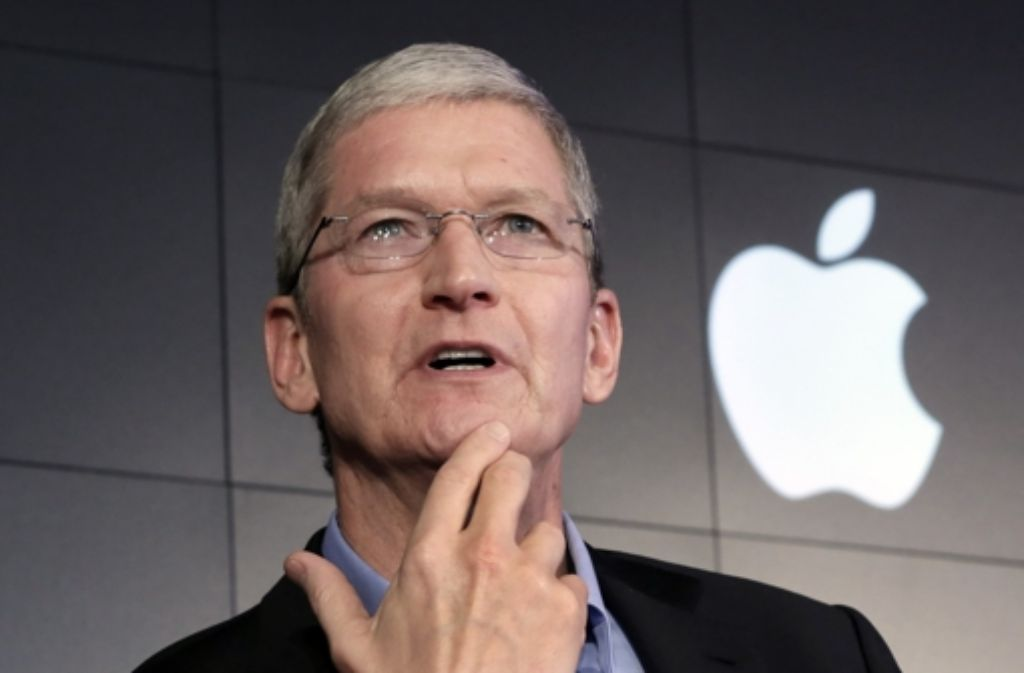 Apples CEO Tim Cook muss Visionen haben. Foto: AP