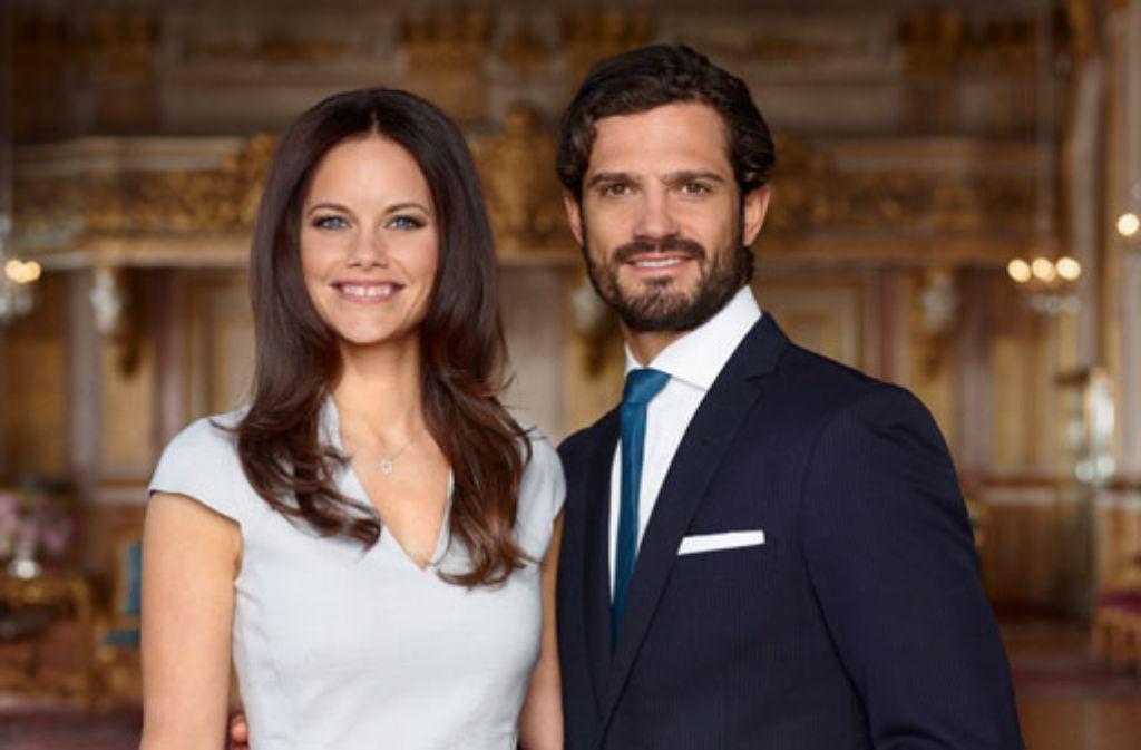 Am 13. Juni werden sie in Stockholm Mann und Frau: Prinz Carl Philip von Schweden und Sofia Hellqvist. Foto: Mattias Edwall/Kungahuset.se