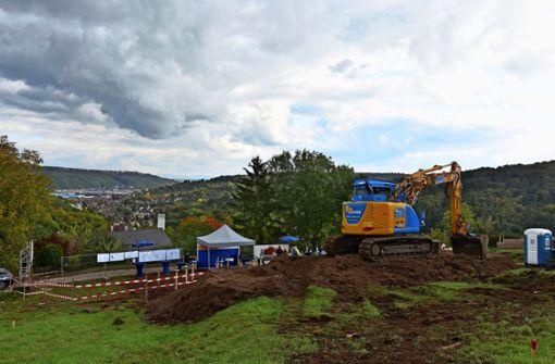 Wegen Bauarbeiten wird der Speidelweg tagsüber gesperrt