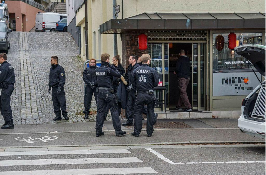 In Böblingen und Nufringen durchsuchten Bundespolizisten Wohnungen und Imbisse. Foto: SDMG/SDMG / Dettenmeyer
