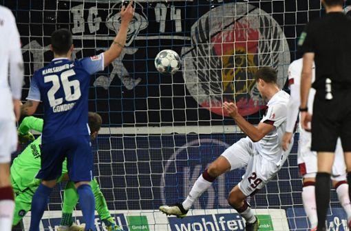 Karlsruher SC kassiert Schlappe gegen den 1. FC Nürnberg