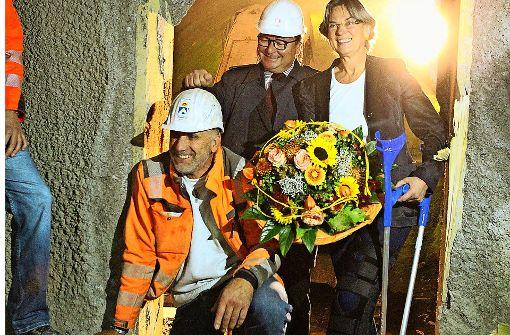 560 Sprengungen für 2648 Meter Tunnel