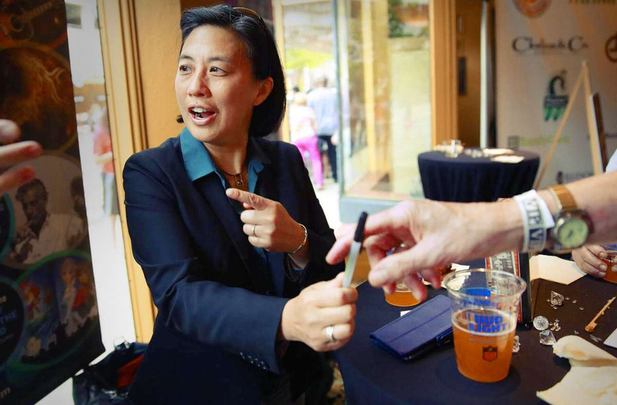 Kim Ng schreibt Geschichte: Sie ist   die erste Managerin in einer der vier großen nordamerikanischen Profiligen. Foto: imago/Nuccio Dinuzzo