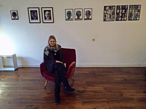 Carmen Büchner fragt sich, wie Emotionen im Gehirn aussehen könnten. Foto: Ina Schäfer