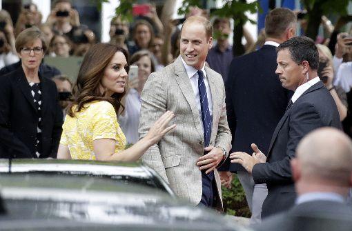 Kate und William sind endlich da