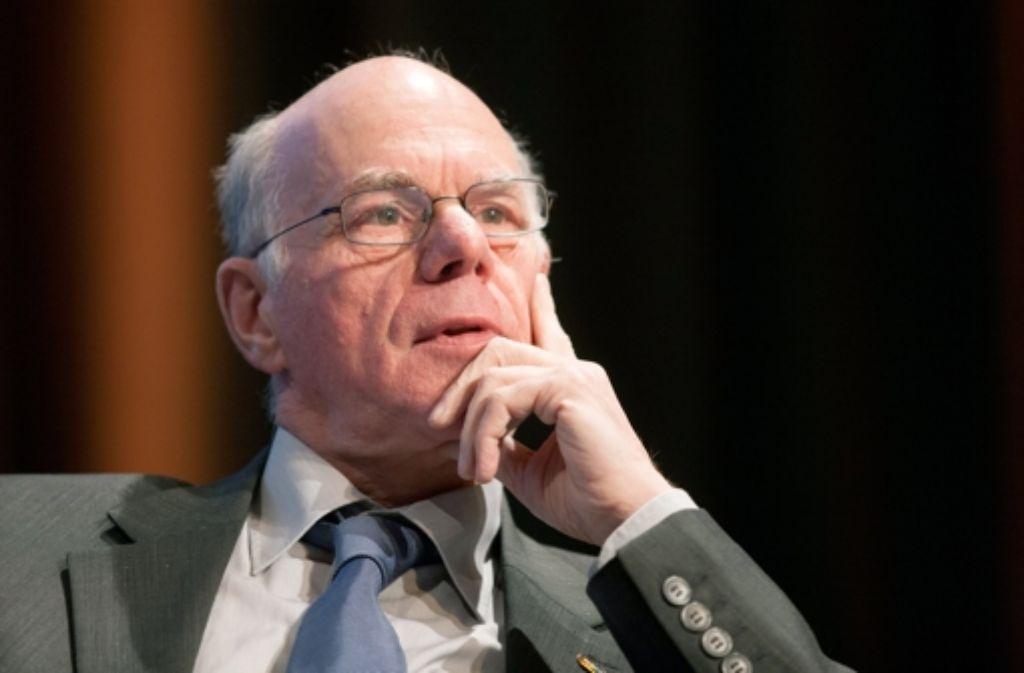 Bundestagspräsident Norbert Lammert, hier bei einem Kongress in Köln Foto: dpa