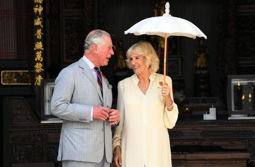 Zwei, die spätes Glück gefunden haben: Prinz Charles und Herzogin Camilla Foto: dpa/Noraini Ahmad