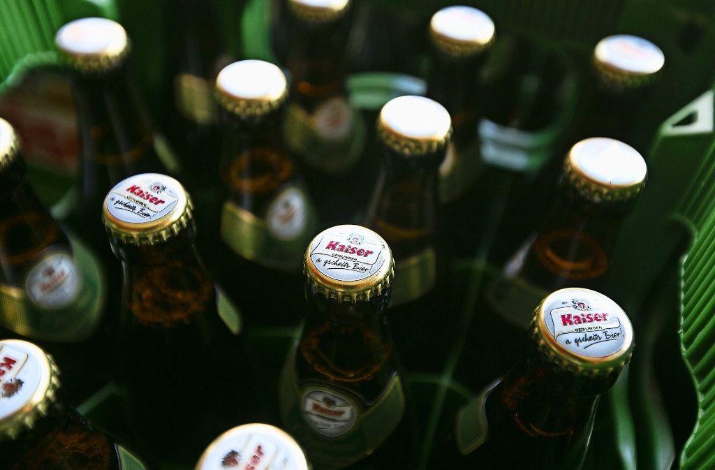 Das Kaiser-Bier soll es zukünftig auch in China zu Kaufen geben. Foto: Horst Rudel