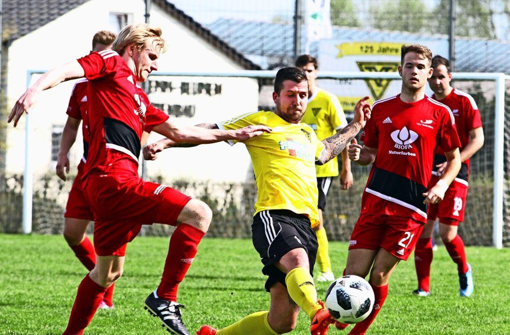 Nils Schaller war mit zwei Treffern maßgeblich am 3:2-Pokalerfolg des TV Echterdingen beteiligt. Foto: Archiv Yavuz Dural