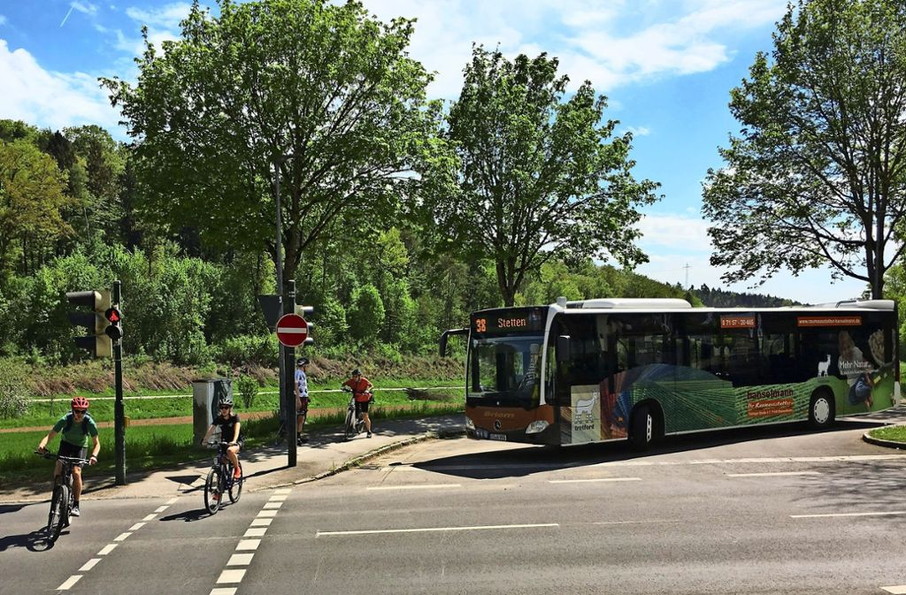 Auch die Buslinie 38 ist von der Veränderung betroffen. Foto: Malte Klein