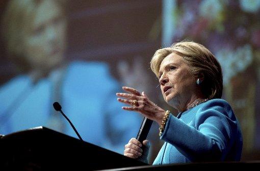 Keine Hinweise auf kriminelles Verhalten Clintons