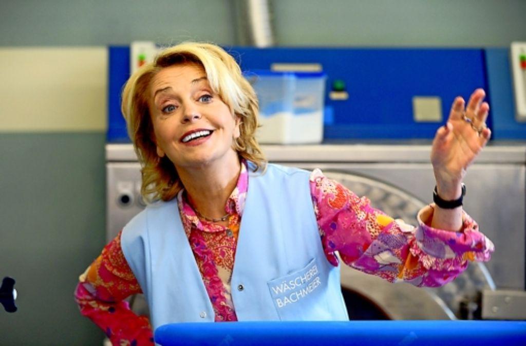 Expertin für schmutzige Wäsche: Gisela Schneeberger als Christa Bachmeier. Foto: BR