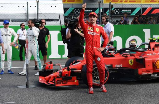 Leclerc holt Ferrari-Pole - Vettel nur Vierter