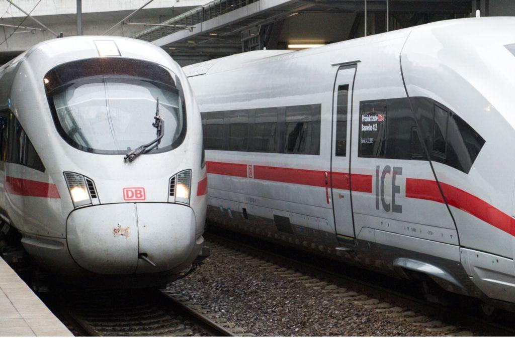 Die Deutsche Bahn ist noch immer hoch verschuldet. Foto: dpa