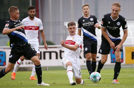 VfB Stuttgart gewinnt Test der Aufsteiger