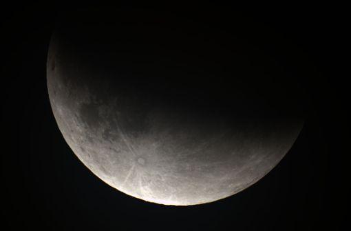 So sah die Sternwarte die Mondfinsternis