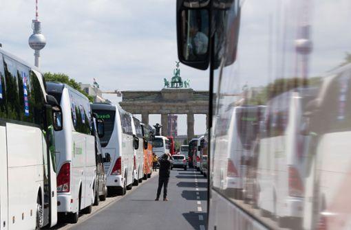 Hilfspaket für schwer getroffene Bus-Unternehmen geplant