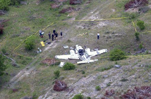 Sechs Tote bei Flugzeugabsturz