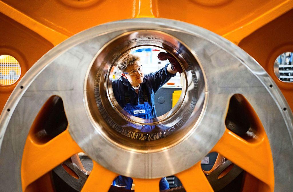Fehlende Fachkräfte sind nicht nur im Maschinenbau ein  Hemmnis für die weitere Entwicklung. Foto: dpa
