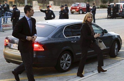 Prozess gegen Infantin Cristina eröffnet
